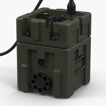 TOW Missile Guidance Set and Battery. Render 9