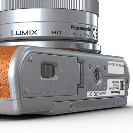 Panasonic DMC GF7 Brown. Render 39