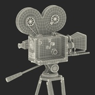 Vintage Video Camera and Tripod. Preview 42