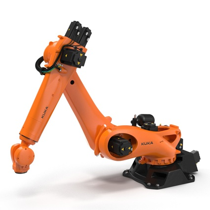 Kuka Robots Collection 5. Render 38