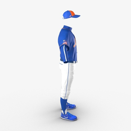 Baseball Player Outfit Mets 2. Render 8