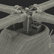 Attack Helicopter Bell AH 1Z Viper Rigged. Preview 119