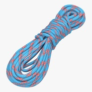 Rock Climbing Rope Blue