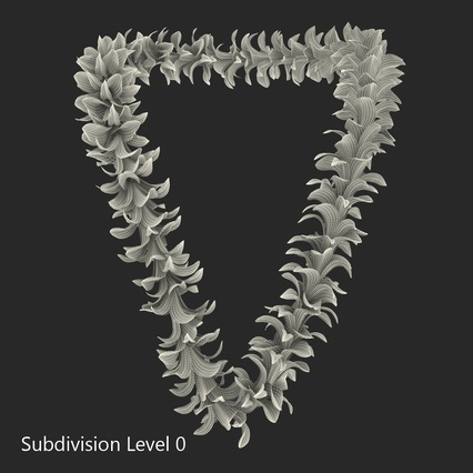 Hawaiian Leis Collection. Render 25
