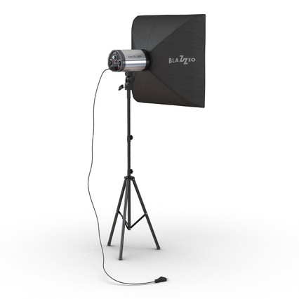 Photo Studio Lamps Collection. Render 52