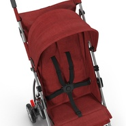 Baby Stroller Red. Preview 20