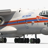 Ilyushin Il-76 Emergency Russian Air Force Rigged. Preview 16