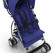 Baby Stroller Blue. Preview 19