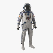 Russian Space Suit Sokol KV2 Rigged