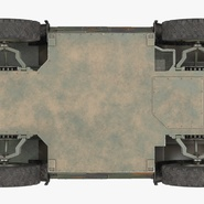 Fennek German Reconnaissance Vehicle Rigged. Preview 28