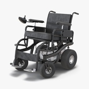 Powered Wheelchair Rigged