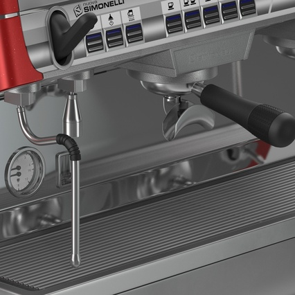 Espresso Machine Simonelli. Render 20