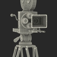 Vintage Video Camera and Tripod. Preview 47