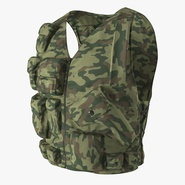 Military Camouflage Vest. Preview 1