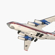Ilyushin Il-76 Emergency Russian Air Force Rigged. Preview 4