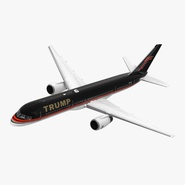 Donald Trumps Private Boeing 757 Rigged
