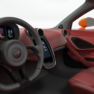 Sports Car McLaren 570GT 2017 Simple Interior. Preview 13