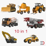 Construction Vehicles Collection 2