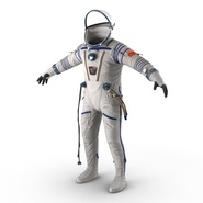 Russian Space Suit Sokol KV2 Rigged. Preview 17