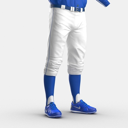 Baseball Player Outfit Mets 2. Render 31