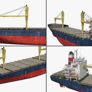 Sea Cargo Ship Generic. Preview 15