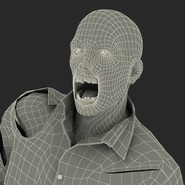 Zombie Rigged for Cinema 4D. Preview 73