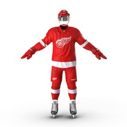 Hockey Equipment Detroit Red Wings. Preview 13