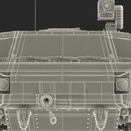 Fennek German Reconnaissance Vehicle Rigged. Preview 36