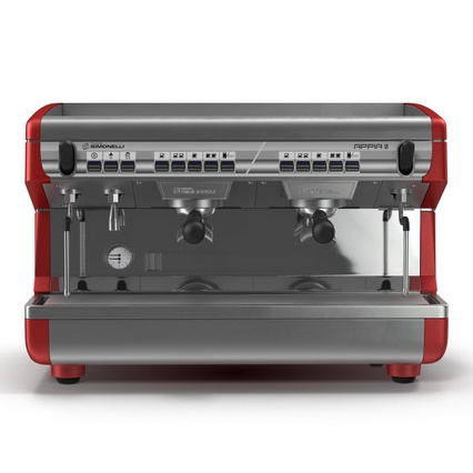Espresso Machine Simonelli. Render 5