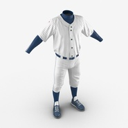 Baseball Player Outfit Generic 8. Preview 10