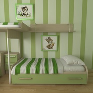 Childrens Bedroom. Preview 6