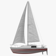 Small Sailing Yacht