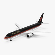 Donald Trumps Private Boeing 757