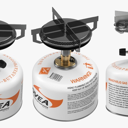 Single Burner Camping Gas Stove Kovea. Render 6