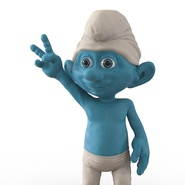 Smurf Rigged for Maya. Preview 22