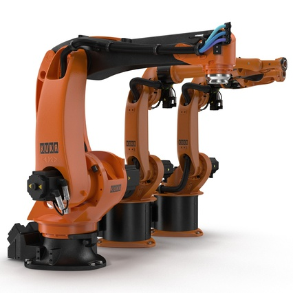 Kuka Robots Collection 5. Render 12