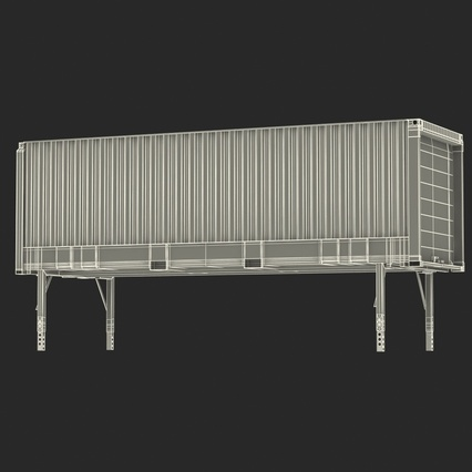 Swap Body Container ISO. Render 4