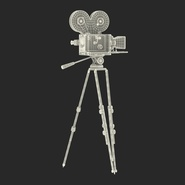 Vintage Video Camera and Tripod. Preview 35