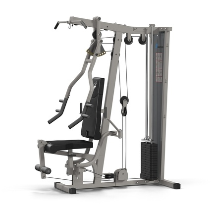 Weight Machine 2. Render 2