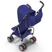Baby Stroller Blue. Preview 16