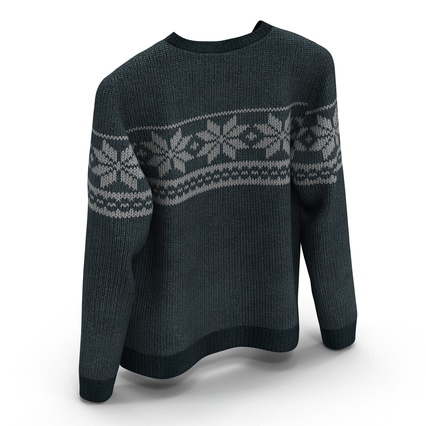 Sweaters Collection. Render 37