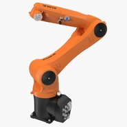 Kuka Robot KR 10 R1100 Rigged. Preview 1