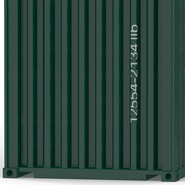 40 ft High Cube Container Green. Preview 28