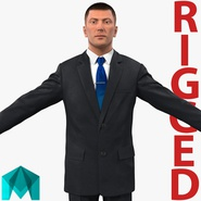 Businessman Rigged for Maya