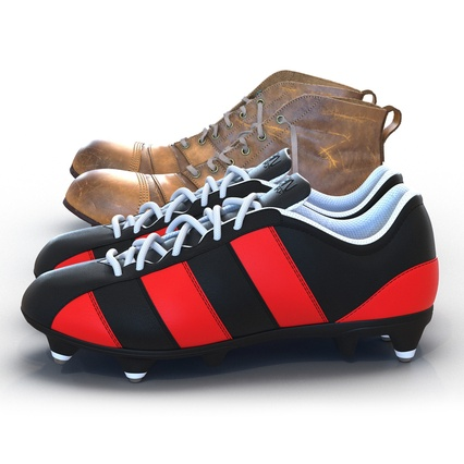 Football Boots Collection. Render 13