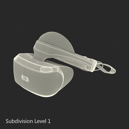 Virtual Reality Goggles Collection. Render 88