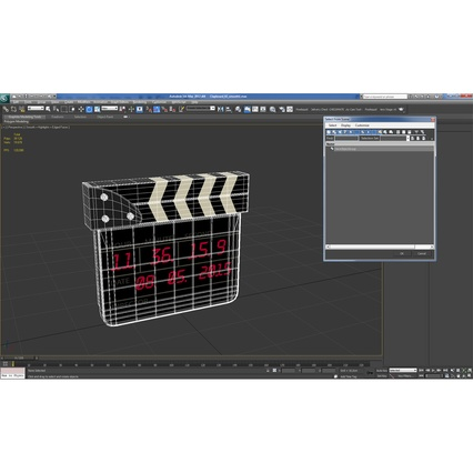 Digital Clapboard 2. Render 28