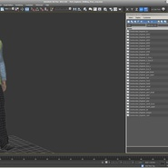 Port Engineer Walking Pose. Preview 19