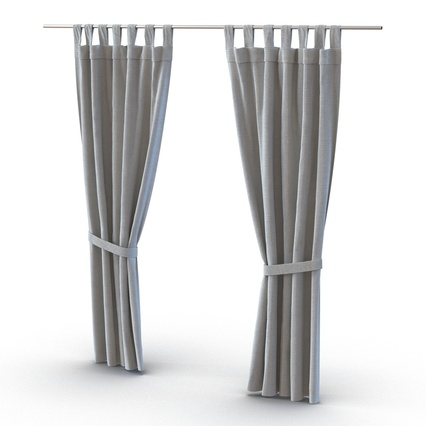 Curtains Collection. Render 53