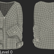 Military Camouflage Vest. Preview 10